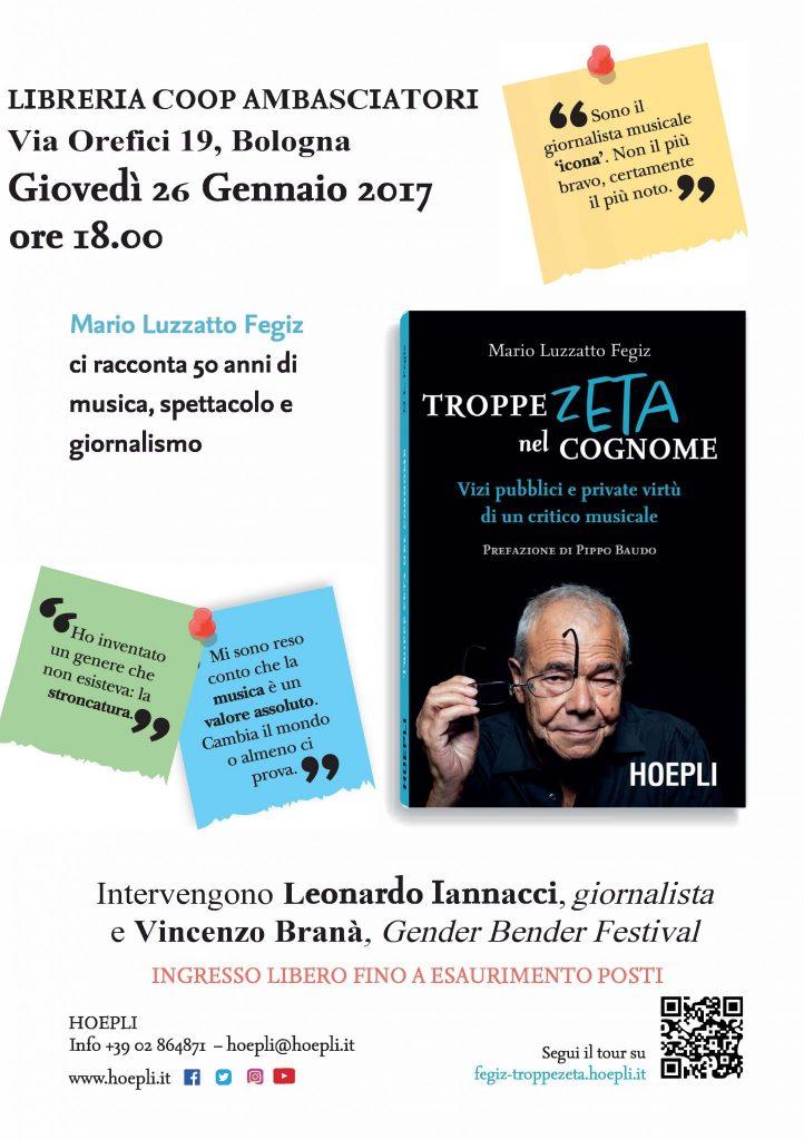 Presentazione Bologna 26 gennaio