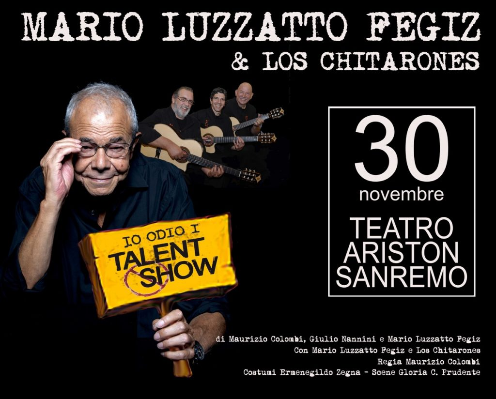 "A grande richiesta torna in teatro ""io odio i talent show"""